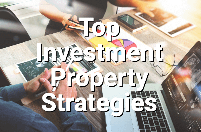 Professionals discussing investment property strategies