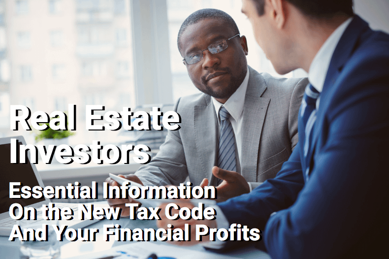 Investment advisor reviewing information with real estate investor
