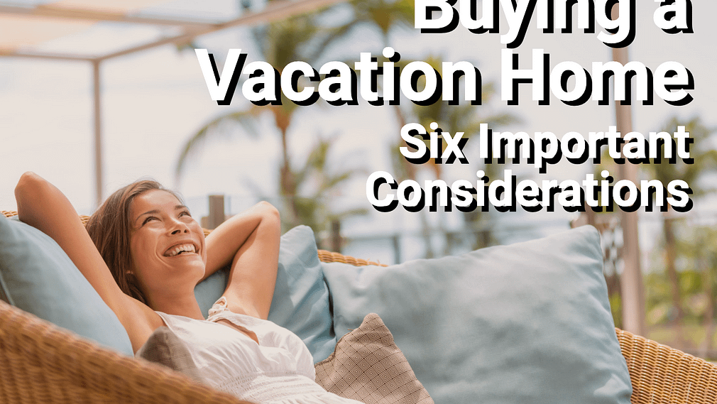 Woman enjoying vacation property