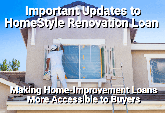 Remodeling contractor working on exterior of home