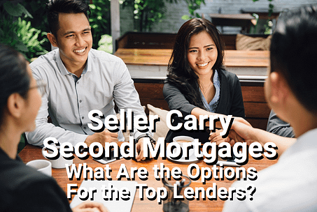 Sellers and buyer agreeing to seller carry second mortgage