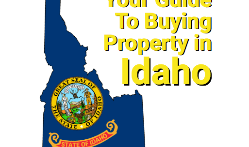 Idaho outline with state seal