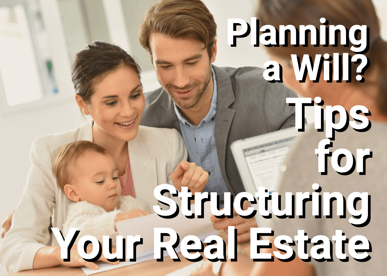 Family meeting with estate planner