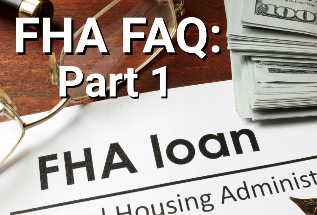 Loan documents from the Federal Housing Administration.